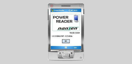 Novo software para leitura de medidores a distância